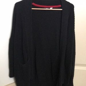 Urban Outfitters BDG black knit cardigan